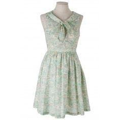 Liberty printed dress