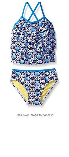 Tommy Bahama Polka Paint Dot Reversible Halter Bikini Top Blue White Gray