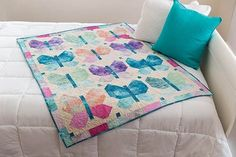 Butterfly Town Quilt Kit  | Keepsake Quilting