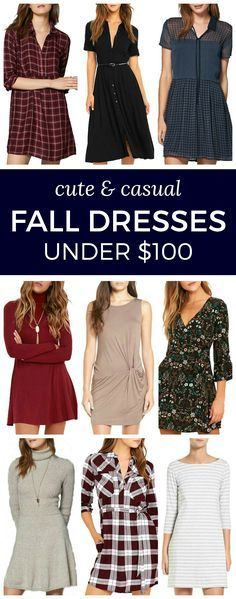 Looking for cute and casual fall outfit ideas? Here are 20 casual fall dresses under $100 that are perfect for everyday wear! | by Florida fashion blogger Ashley Brooke Nicholas