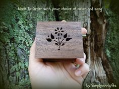 music box flower music box flower girl gift by Simplycoolgifts