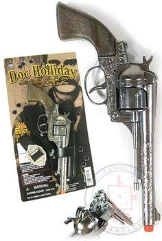 Doc Holliday Replica Revolver Cap Gun. For Photobooth? Giveaways?