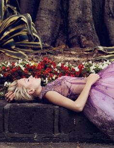 "Annabella Barber in ""A Rose Down Under"" Photographed By Jaclyn Adams & Styled By Vass Arvanitis For Plaza Kvinna"