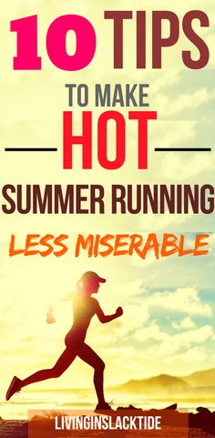 With the rising summer temperatures quickly approaching read these tips + tricks to make sure you're prepared! #running #fitness #health