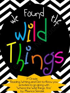 We Found the Wild Things from Elementary Nerd on TeachersNotebook.com (15 pages)  - Activities for Where the Wild Things Are