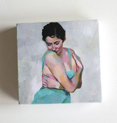 This listing is for a tiny canvas print. This rare canvas will make a precious gift. An amusing size, you can hang it on a wall or notice board or carry