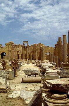 Leptis Magna,Libya.  THE LIBYAN Esther Kofod www.estherkofod.com