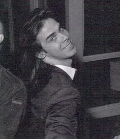 nick cave...smiling...this is legit terrifying