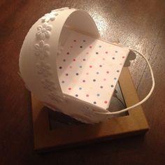 DIY Wózeczek z papieru | Hiacynt w doniczce