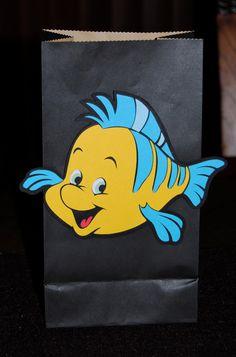 The Little Mermaid Flounder & Sebastian Gift Bag,