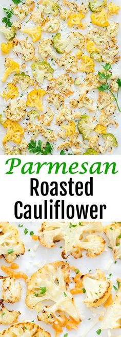 Parmesan Roasted Cau