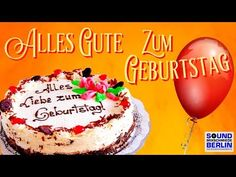Birthday song ❤️Happy birthday nice birthday song german birthday greeting WhatsApp - Birthday wishes Happy Birthday Birthday song ❤️ beautiful birthday greetings for WhatsApp – Y - Birthday Songs, Birthday Diy, Birthday Cake, Spice Cupcakes, Pumpkin Cupcakes, Sister Christmas Presents, Funny Happy Birthday Messages, Little Sister Gifts, Birthday Wishes For Boyfriend