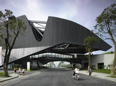 Giant Interactive Group Headquarters 2010  Photo by Roland Halbe