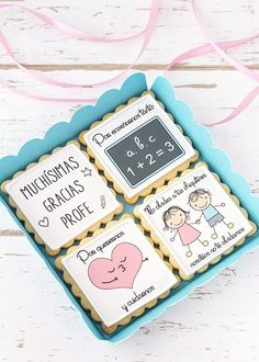 Postreadicción: Galletas decoradas, cupcakes y cakepops: Galletas para las profesoras