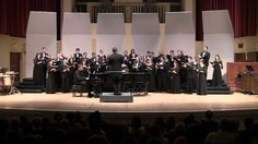 Lead, Kindly Light by Dan Forrest (Commissioned by the TTU Chorale)