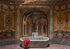 Castello di Sammezzano, Tuscany  Photographer: Martino Zegwaard  Beautiful Abandoned Buildings - Tour An Abandoned Castle In Tuscany
