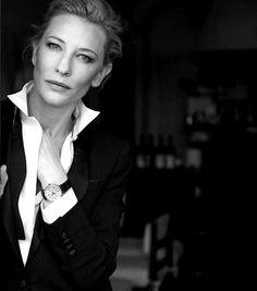 60b2c55a051f55 Cate Blanchett by Peter Lindbergh Féminin Masculin, Femme, Peter Lindbergh,  Femmes Emblématiques,