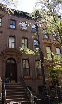 The TV home of Carrie Bradshaw in Sex and the City. It's located at 64 Perry Street in the West Village.