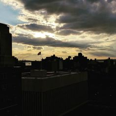 More #clouds over #Brooklyn