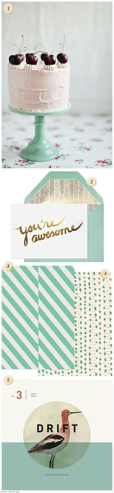 Pinterest Picks: Still in Love WithMint - Home - Creature Comforts - daily inspiration, style, diy projects + freebies