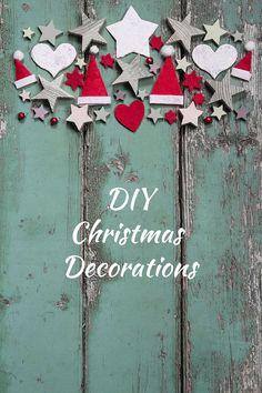 Three DIY Christmas Decorations