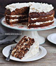 Wyśmienite Ciasto Marchewkowe – Przepis – Mała Cukierenka Malaga, Tiramisu, Birthday Cake, Sweets, Ethnic Recipes, Cook, Coffee, Photography, Backen