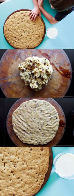 How to make a giant cookie!