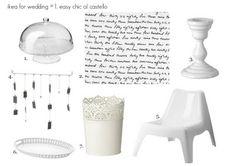 #Ikea for #wedding n.1 - castle easy chic