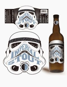 El desván del Freak: Etiquetas de cerveza para impresionar a tus amigos.