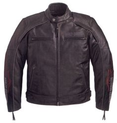 Mens Harley Davidson Americana Leather Jacket 98009-11VM