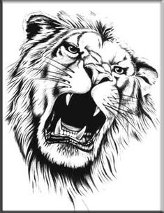 The undisputed king of the animal kingdom - the lion is a standing image of energy and energy. Tattoos based mostly across the lion and lioness have been round for hundreds of years, however nonetheless . Lion Tribal, Tribal Lion Tattoo, Lion Tattoo Design, Arte Tribal, Lion Design, Tattoo Designs, Lion And Lioness Tattoo, Lion Head Tattoos, Cool Tattoos
