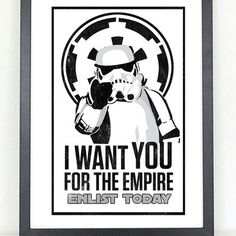 I want you for the empire