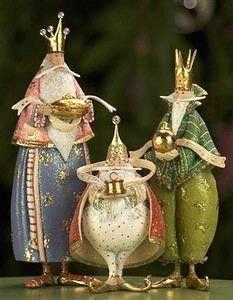 KrinklesOnline by Patience Brewster - 2009 Nativity Krinkles Magi Christmas Figures
