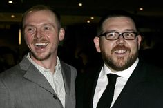 Simon Pegg & Nick Frost - need constant watching in public - some more naughty Brits