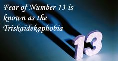Interesting facts about unlucky number 13