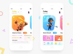 Top UX Inspirations of all time! Good UI design facilitates making the completion of tasks as frictionless as possible and increasing usability. Web Design Mobile, Ios App Design, User Interface Design, Game Interface, Design Responsive, Card Ui, App Design Inspiration, Mobile App Ui, Application Design