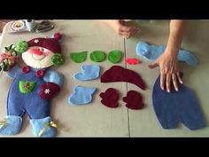 MUÑEQUERIA NAVIDEÑA: Aplique de Nieve - YouTube Christmas Sewing, Christmas Wood, Christmas Items, Christmas Angels, Christmas Crafts, Christmas Decorations, Christmas Ornaments, Sewing Crafts, Sewing Projects