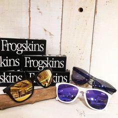 OAKLEY FROGSKINS ASIAN FIT再入荷しました #standardcalifornia #スタンダードカリフォルニア #oakley #frogskins #sunglasses