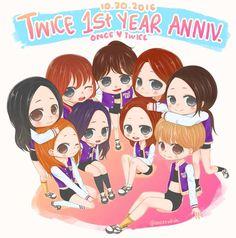 TWICE- 1st year anniversary