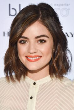 How+Lucy+Hale+Went+From+Beauty+Newbie+To+Total+Badass+#refinery29+http://www.refinery29.com/2016/12/133619/lucy-hale-short-hair-makeup-transformation-photos#slide-32