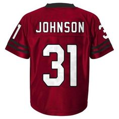 Athletic Jerseys Arizona Cardinals Team Color XL, Boy's, Multicolored