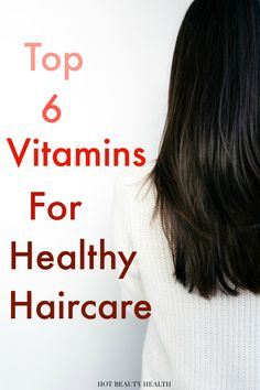 Adding these vitamins to your diet would be great for hair and how to grow thicker healthy hair. When I don't get them from food, I take supplements and I've had great results. Click pin for healthy hair tips and to see the top vitamin products that are superb for not only skin care but hair too! Hot Beauty Health #haircare #vitaminsforhair #hairgrowth #healthyhair