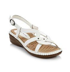 Product: Studio Works® Pretzel Slingback Sandal Ladies Sandals, Slingback Sandal, Blue Jeans, Evolution, Footwear, Wedges, Comfy, Women's Fashion, Flats