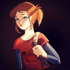 Ellie - The Last of Us - FanArt reloaded on Behance