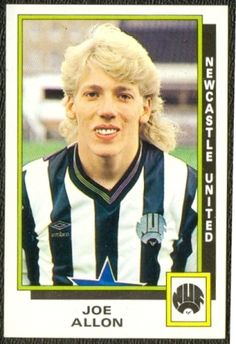 JOE ALLON Newcastle United (1986)
