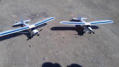Flying day brand new SuperCub....whoo hoo wing don't break please hahah