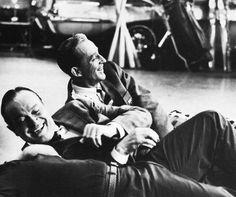 Bob Hope and Bing Crosby.