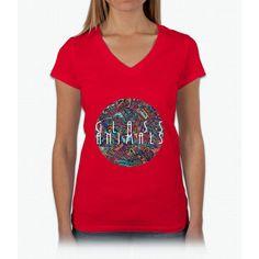 Glass Animals Womens V-Neck T-Shirt