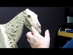 Sculpting With Lemon - Instructional Video on Sculpting a Horse's Head - 1st 33 Minutes Condensed - YouTube