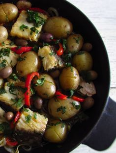 Traditional cod | Food From Portugal. Every cod dishes are always very appreciated in the Portuguese gastronomy. Prepare this traditional cod recipe with the typical seasonings like the olive oil, onion and garlic and make an excellent meal.